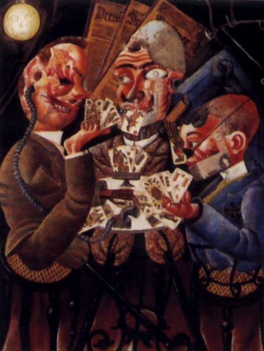 3 è : un tableau d'OTTO DIX qui représente les horreurs de la guerre « Collegemarsillargues